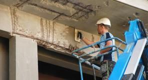 Betongrehabilitering av skadet betong i Oslo