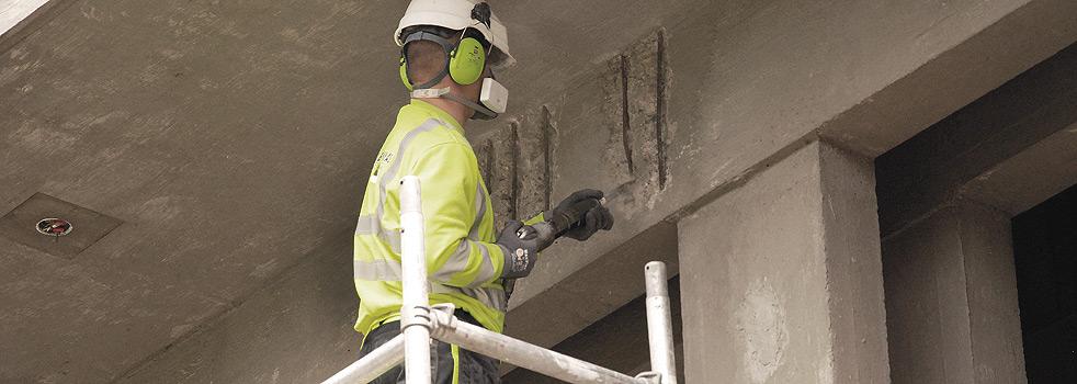 Betongskader - Betongrehabilitering av skadet betong
