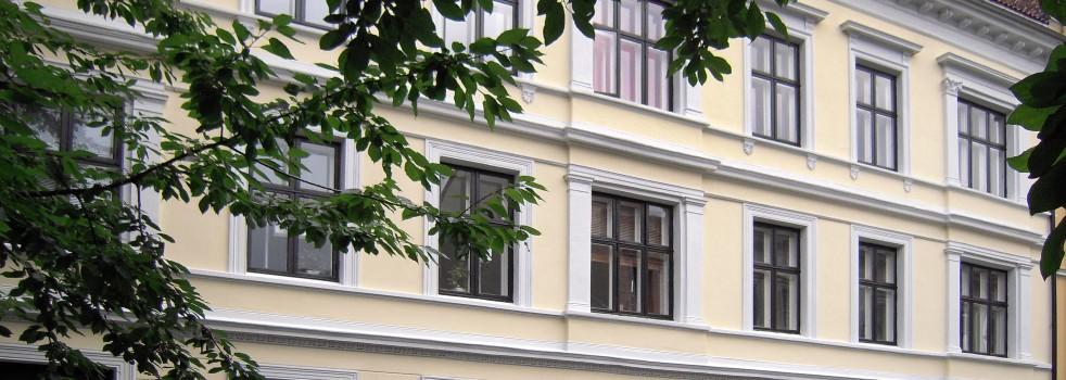 Maling av fasader i Oslo