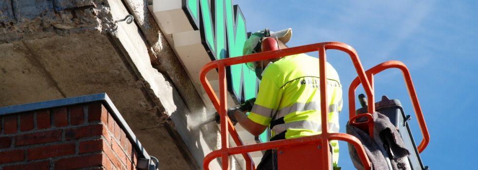 Utbedring av fuktproblemer på teglstein og betong