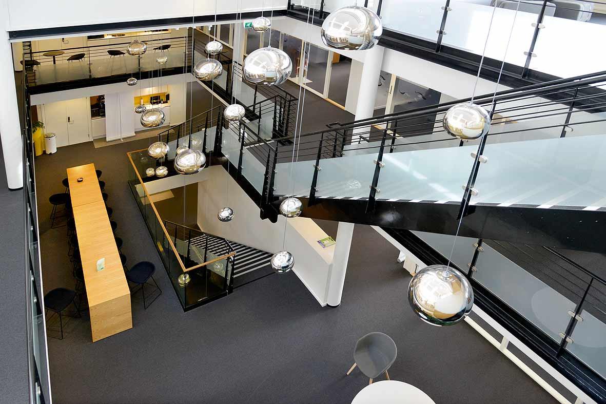 Stilfull trapp utført av NOR entreprenør Oslo