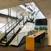 Stilfull trapp utført av NOR entreprenør i Oslo