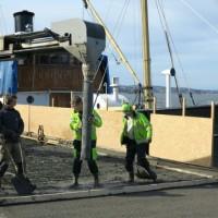 Utbedring av skadet betong i Oslo