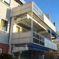 Balkongrehabilitering av fuktskader i balkonggulv