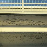 Fukt og vannskader i betongen på balkongene