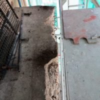 Balkongrehabilitering - Utfylling ble utført med Mapei sitt Betongrehabiliteringsprogram.