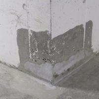Reparasjon av betongskader i garasje