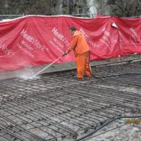 Rehabilitering av kaianlegg med vannmeisling.