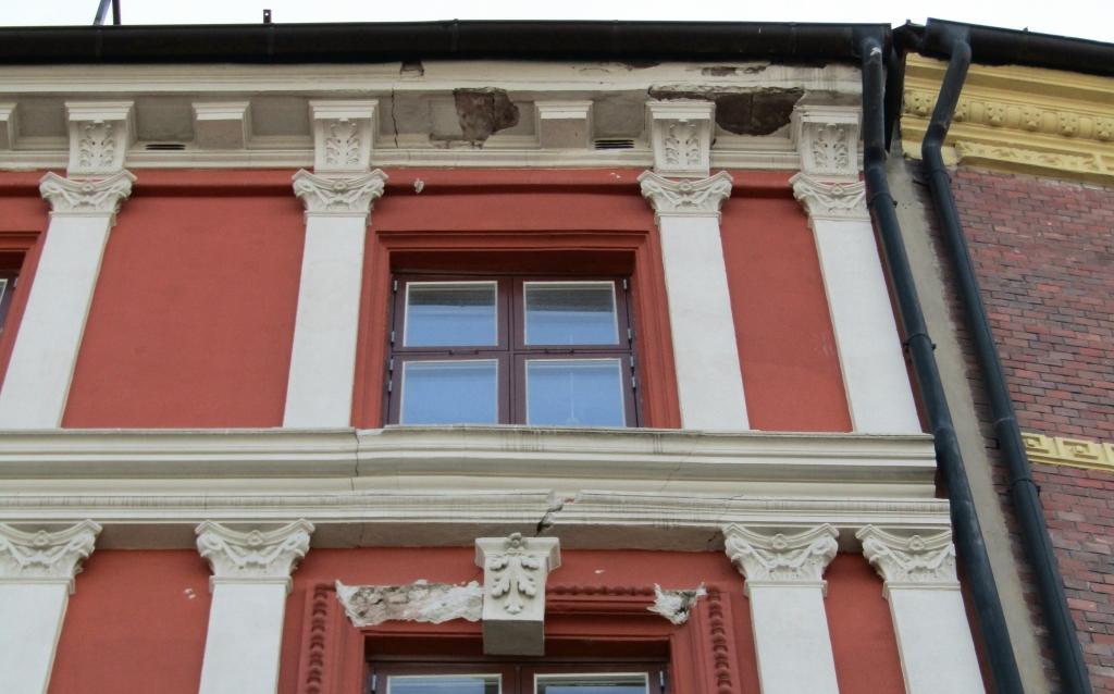 Oppsussing av fasade