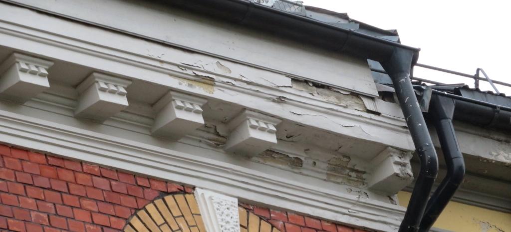 Fuktskader på fasader