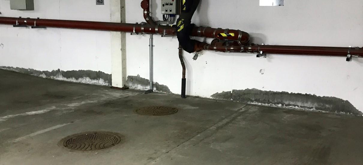 Reparasjon av garasjeanlegg Maridalsveien