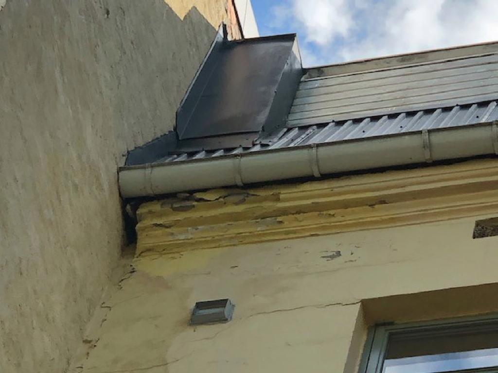 Murskader på fasade
